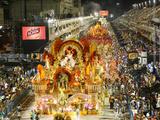 Carnival Parade at the Sambodrome, Rio de Janeiro, Brazil, South America Photographie par Yadid Levy