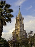 Arequipa Cathedral, Plaza de Armas, Arequipa, Peru, Peruviann, Latin America, South America Photographic Print by Simon Montgomery