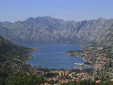 Kotor and Kotor Bay, UNESCO World Heritage Site, Montenegro, Europe Photographic Print by Rolf Richardson