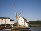 Tide Mill and Boat Moorings on the River Deben, Woodbridge, Suffolk, England, UK, Europe Photographic Print by Ian Murray