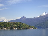 Tremezzo and Cadenabbia in Spring Sunshine, Lake Como, Lombardy, Italian Lakes, Italy, Europe Photographic Print by Peter Barritt