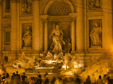 Trevi Fountain, Rome, Lazio, Italy, Europe Photographic Print by Angelo Cavalli