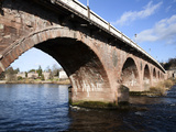 Perth Bridge, Perth, Perth and Kinross, Scotland Photographic Print by Mark Sunderland