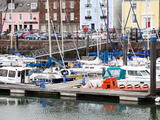 Boats at Arbroath Harbour, Arbroath, Angus, Scotland, United Kingdom, Europe Photographic Print by Mark Sunderland