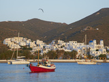 Katapola Port, Amorgos, Cyclades, Aegean, Greek Islands, Greece, Europe Photographic Print by  Tuul