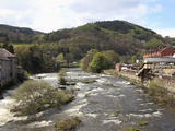 River Dee, Llangollen, Dee Valley, Denbighshire, North Wales, Wales, United Kingdom, Europe Photographic Print by Wendy Connett