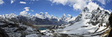 Renjo Pass of Mount Everest, Sagarmatha Nat'l Park, UNESCO World Heritage Site, Nepal Fotografisk tryk af Jochen Schlenker