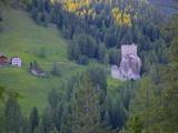 Castle, Passo Tre Croci, Belluno Province, Veneto, Italian Dolomites, Italy, Europe Photographic Print by Frank Fell