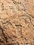 Rock Engravings Close to Twyfelfontein Lodge, Twyfelfontein, Damaraland, Kunene Region, Namibia Photographic Print by Nico Tondini