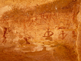 Twyfelfontein Rock Art Site, UNESCO World Heritage Site, Damaraland, Namibia Photographie par Kim Walker