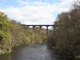 Pontcysyllte Aqueduct, UNESCO World Heritage Site, Llangollen, Denbighshire, North Wales, UK Photographic Print by Wendy Connett