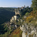 Autumnal View, Rocamadour, Lot, Midi-Pyrenees, France, Europe Photographic Print by Stuart Black