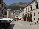 Inside the Walled City of Dubrivnik, UNESCO World Heritage Site, Croatia, Europe Photographic Print by Matthew Frost