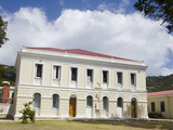 Legislature Building in Charlotte Amalie, St. Thomas Island, U.S. Virgin Islands, West Indies Photographic Print by Richard Cummins