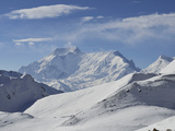 Thorong La (Thorung La), Pass at 5416m, Annapurna Conservation Area, Gandaki, Pashchimanchal, Nepal Photographic Print by Jochen Schlenker