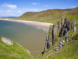 Rhossili Bay, Gower Peninsula, Wales, United Kingdom, Europe Photographic Print by Billy Stock
