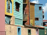 Caminito (Little Street), La Boca, Buenos Aires, Argentina, South America Reproduction photographique par Ethel Davies