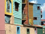 Caminito (Little Street), La Boca, Buenos Aires, Argentina, South America Photographic Print by Ethel Davies