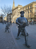 Desperate Dan Statue, Dundee, Scotland Photographic Print by Mark Sunderland