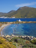 Beach and Church, Agios Panteleimon, Amorgos, Cyclades, Aegean, Greek Islands, Greece, Europe Photographie par  Tuul