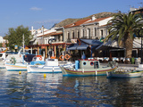 Harbour View, Pythagorion, Samos, Aegean Islands, Greece Stampa fotografica di Stuart Black