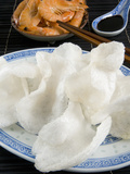 Prawn Flavored Crackers and Soy Sauce, Chinese Cuisine, China, Asia Photographic Print by Nico Tondini