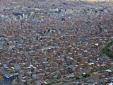 View over La Paz City, Bolivia, South America Photographic Print by Simon Montgomery