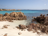 Spiaggia Rosa (Pink Beach) on Island of Budelli, La Maddalena Nat'l Park, Sardinia, Italy Photographic Print by Oliviero Olivieri