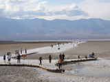 Badwater Basin, Death Valley, California, United States of America, North America Photographic Print by Robert Harding Productions