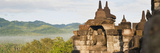 Buddha Panorama, Borobudur Temple, UNESCO World Heritage Site, Java, Indonesia, Southeast Asia Photographic Print by Matthew Williams-Ellis