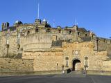 Entrance to Edinburgh Castle under Clear Blue Sky, Edinburgh, Lothian, Scotland Photographic Print by Chris Hepburn