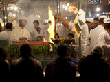 Market Food Stall, Place Jemaa el Fna, Marrakesh, Morocco, North Africa, Africa Photographic Print by Frank Fell