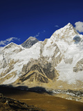 Mount Everest and Nuptse from Kala Patthar, Sagarmatha Natl Park, UNESCO World Heritage Site, Nepal Photographic Print by Jochen Schlenker