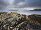 Stormy Conditions at Ord, Isle of Skye, Scotland Photographic Print by Jon Gibbs