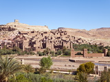 Ancient Kasbah Town of Ait Benhaddou, UNESCO World Heritage Site, Morocco Photographic Print by Gavin Hellier