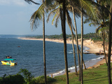 View Along Sinquerim Beach, Fort Aguada, Goa, India, Asia Photographic Print by Stuart Black