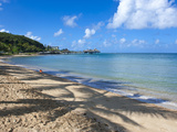 Beach in Noumea, New Caledonia, Melanesia, South Photographic Print by Michael Runkel