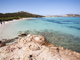 Madonna Mantle Between Islands of Santa Maria and Budelli, La Maddalena Nat'l Park, Sardinia, Italy Photographic Print by Oliviero Olivieri
