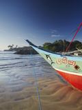 Fishing Boat, Galle, Southern Province, Sri Lanka, Asia Photographic Print by Ian Trower