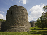 Old Inverlochy Castle and Ben Nevis, Inverlochy, Fort William, Lochaber, Scotland, UK, Europe Photographic Print by Jean Brooks