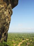 View of Plains from Sigiriya (Lion Rock), UNESCO World Heritage Site, Sri Lanka, Asia Photographic Print by Jochen Schlenker