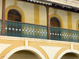 Portuguese Era Balcony in the Old Quarter, Fontainhas, Panjim, Goa, India, Asia Photographic Print by Stuart Black