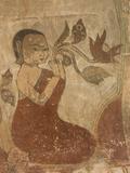Murals, Sulamani Pahto, Bagan (Pagan), Myanmar (Burma), Asia Photographic Print by Richard Maschmeyer