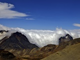 View from Mount Chacaltaya, Calahuyo, Cordillera Real, Bolivia, Andes, South America Photographic Print by Simon Montgomery