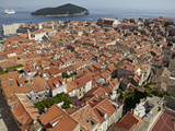 The Rooftops of the Walled City of Dubrovnik, UNESCO World Heritage Site, Croatia, Europe Photographic Print by Matthew Frost