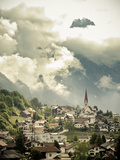 Austrian Village in the Alps, Austria, Europe Photographic Print by Ian Egner