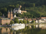 View across the River Main to Miltenberg, Bavaria, Germany, Europe Photographic Print by James Emmerson