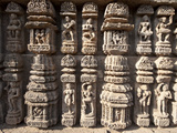 Ornate Erotic Carvings on Konarak Sun Temple, UNESCO World Heritage Site, Konarak, Orissa, India Photographic Print by Annie Owen