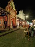 Chichicastenango Market, Chichicastenango, Guatemala, Central America Photographic Print by Antonio Busiello
