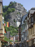 The Main Street with the Felsenkirche, Idar Oberstein, Rhineland Palatinate, Germany, Europe Photographic Print by James Emmerson